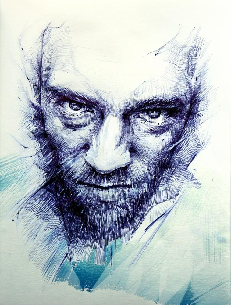 Vincent Cassel by Vasiliy